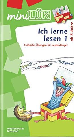Lük Mini-Übungsheft. Ich Lerne Lesen 1 - Fröhliche Übungen Für Leseanfänger
