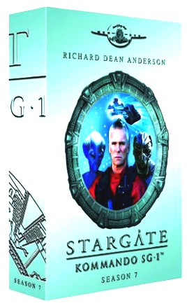 Stargate Kommando SG-1 - Season 7 Box (6 DVDs im Digipack)