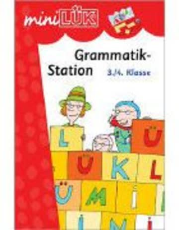 miniLÜK / Deutsch: miniLÜK: 3./4. Klasse - Deutsch: Grammatikstation