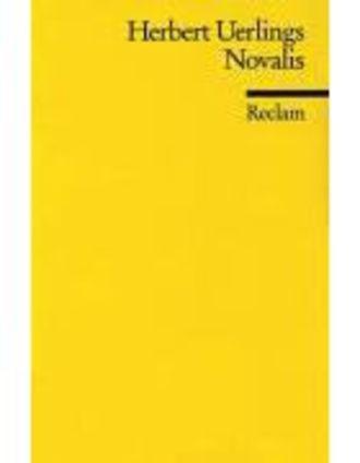 Novalis - (Literaturstudium)