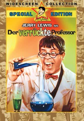 DVD * Der verrckte Professor [Import allemand]