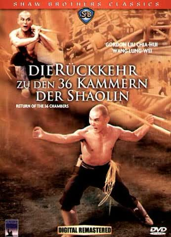 Rückkehr zu Den 36 Kammern der Shaolin [Import allemand]