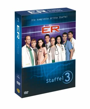 ER - Emergency Room, Staffel 03 [4 DVDs]
