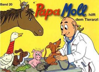 Papa Moll Hilft Dem Tierarzt