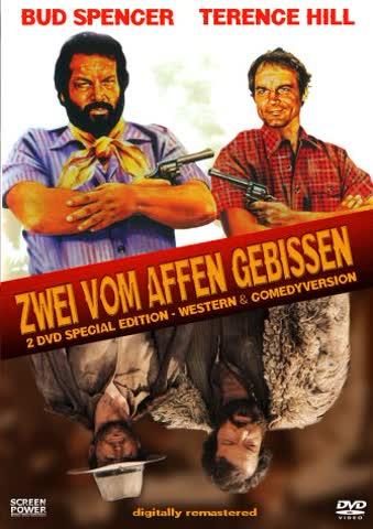 Zwei vom Affen gebissen (Western & Comedy-Version) [Special Edition] [2 DVDs]