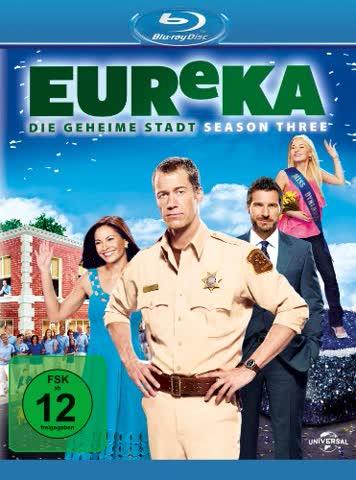 EUReKA - Die geheime Stadt, Season 3 [Blu-ray]
