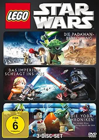 Lego Star Wars: Die Padawan Bedrohung/Das Imperium schlägt ins Aus/Die Yoda Chroniken [3 DVDs]