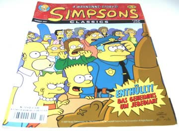 Simpsons Classics Nr.10 - Sommer 2007 (Comic) gebr.