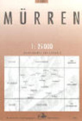 Landeskarte der Schweiz, 1:25 000, Nr. 1226, MÜRREN