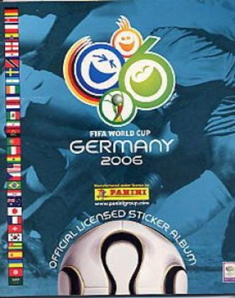 FIFA World Cup 2006 Deutschland - Fifa World Cup Germany 2006 Officiallicensed Sticker Album