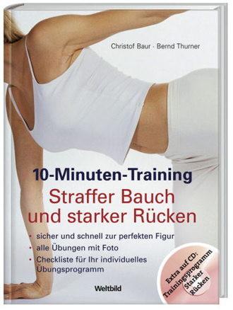 10-Minuten-Training Straffer Bauch und starker Rücken