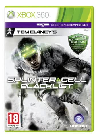 Splinter Cell Blacklist Upper Echelon (Day1) Edition, Tom Clancy's [AT-PEGI]
