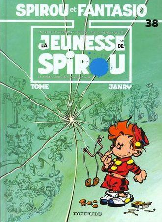 Spirou Et Fantasio T.38 ; La Jeunesse De Spirou