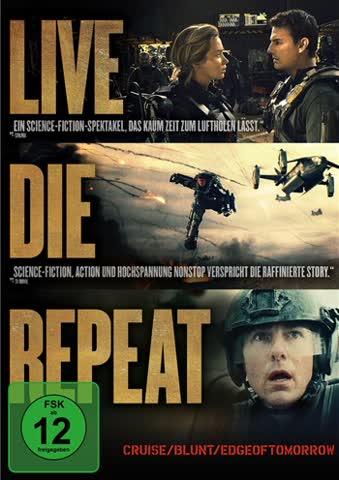 EDGE OF TOMORROW - LIVE. DIE. [DVD] [2014]