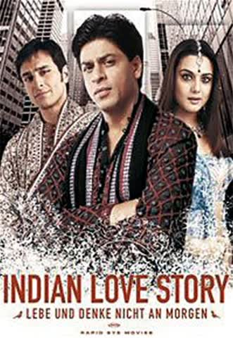 Indian Love Story - Lebe und denke nicht an morgen [2 DVDs]