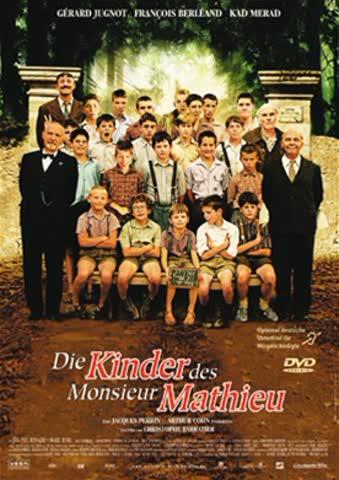 DVD DIE KINDER DES MONSIEUR MATHIEU