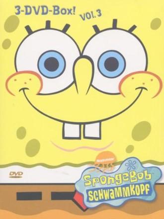 SpongeBob Schwammkopf - 3er Box, Vol. 03 (3 DVDs)