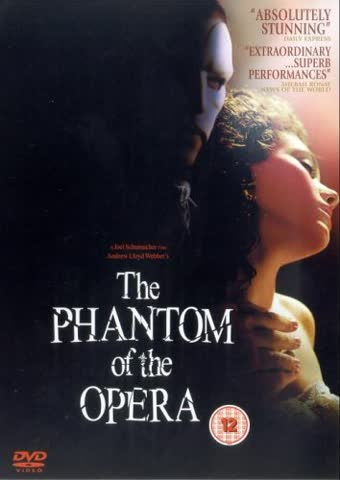 The Phantom Of The Opera [DVD] [UK Import]