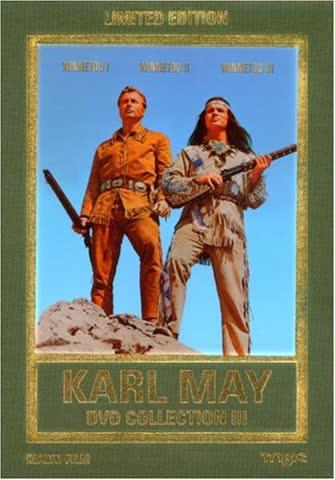 Karl May DVD-Collection 3 (Winnetou I/Winnetou II/Winnetou III) (3 DVDs) [Limited Edition]