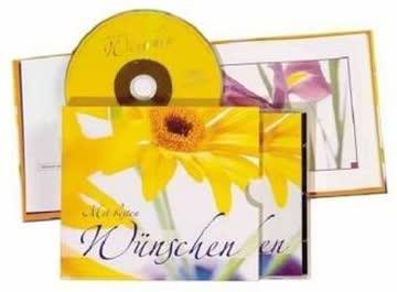 Mit besten Wünschen, Audio-CD & Bildband: CD und Buch