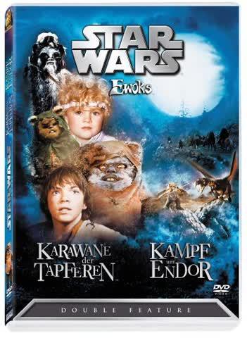 DVD * STAR WARS * Ewoks [Import allemand]