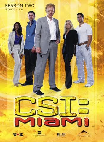 CSI: Miami - Season 2.1 (3 DVDs) [Import allemand]