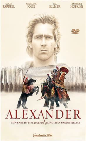 ALEXANDER - MOVIE [DVD] [2004]