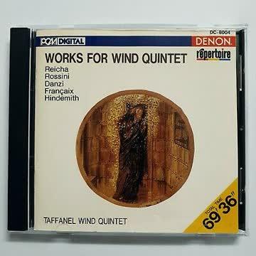 Taffanel Wind Quintet - Works for Wind Quintet