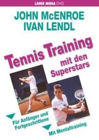 John McEnroe/ Ivan Lendl - Tennis Training mit den Superstars