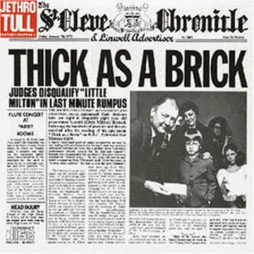 Jethro Tull - Thick As a Brick Part 1 & 2