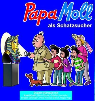 Papa Moll als Schatzsucher