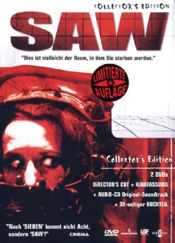 Saw (+ Audio-CD) [Collector's Edition] [2 DVDs]