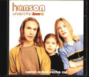 Hanson - Where'S the Love (Posterpack)