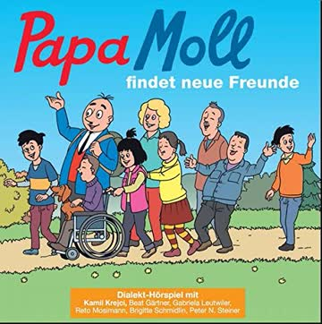 Papa Moll findet neue Freunde