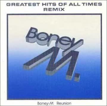 Boney M. - Greatest Hits of All Times Remix 1988