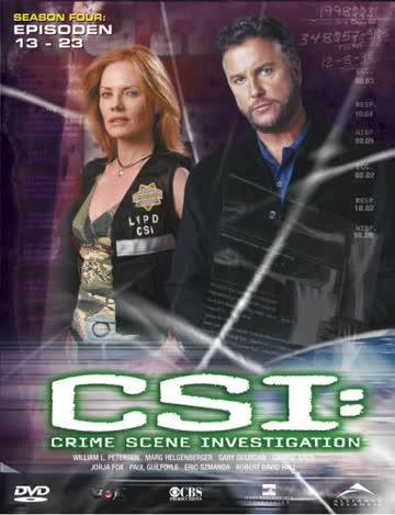 CSI: Crime Scene Investigation - Season 4.2 (3 DVDs)