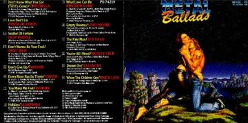 Various - Metal Ballads 2 (1989)