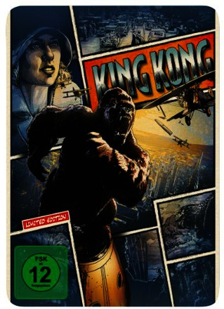 King Kong - Reel Heroes Edition - Steelbook [Blu-ray]