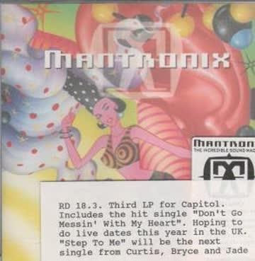 Mantronix - The Increible Sound Machine