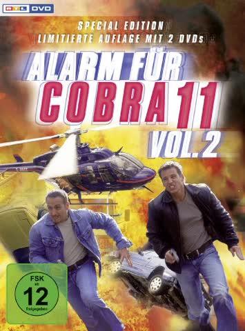 Alarm für Cobra 11 - Vol. 2 (Limited Special Edition, 2 DVDs)