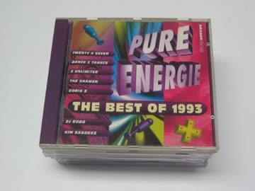 Pure Energie-The best of 1993 - Twenty 4 Seven, Dance 2 Trance, Dj Bobo, 2 Unlimited, Good Men..