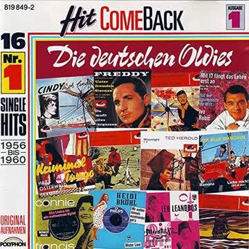 Various - Hit Come Back: Die Deutschen Oldies 1 (1956 - 1960)