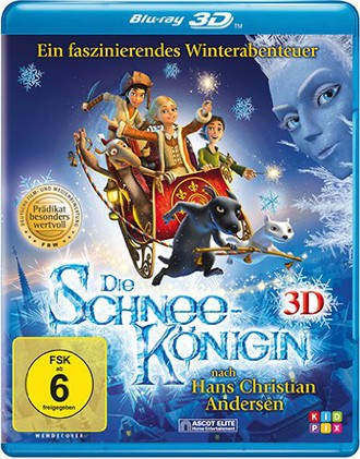 Die Schneekönigin [3D Blu-ray]