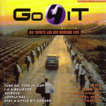 Go 4 it-Tophits aus der Werbung 1995 - Delta Airlines, Louis Armstrong, Lulu & the Luvers, Beagle Music..