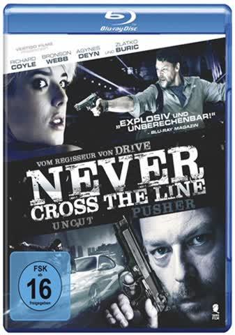 Never Cross the Line (Uncut) [Blu-ray]