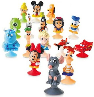 Disney Koch und Backspass - Stikeez Cars