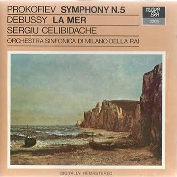 Celibidache - Sinfonie 5/Klav.-Kzt.5