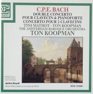 Ton Koopman, - Double Concerto Pour Calvecin & Pianoforte, Concerto Pour 2 Clavecins (UK Import)