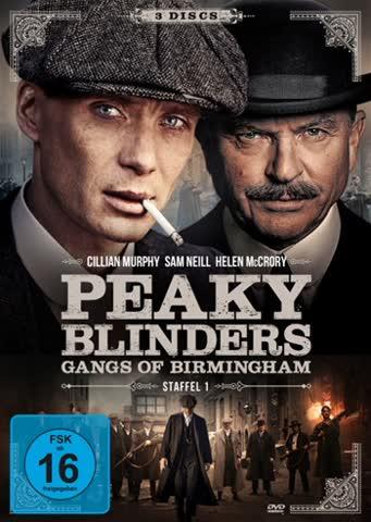 Peaky Blinders: Gangs of Birmingham - Staffel 1 [3 DVDs]