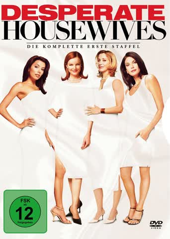 Desperate Housewives - Die komplette erste Staffel (6 DVDs)